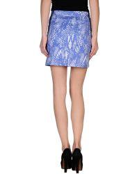 Mm6 By Maison Martin Margiela Mini Skirt - Lyst
