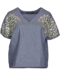Antik Batik Denim Shirt - Lyst