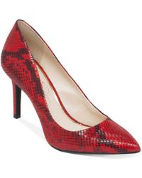 Jessica Simpson Animal Lory Pumps - Lyst