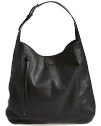 Tory Burch 'Brody' Leather Hobo Bag - Lyst