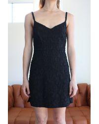 Rachel Comey - Agitator Mini Dress Black - Lyst
