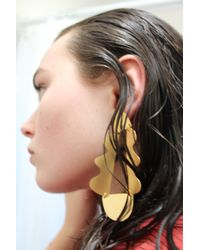 Annie Costello Brown - Matisse Earrings Gold - Lyst