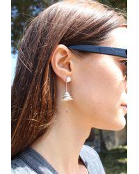 Andrea Vaggione - Sterling Silver Toji Earrings - Lyst