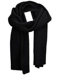 SELECTED - Hank Structured Scarf - Lyst