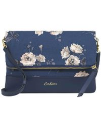 Cath Kidston - Leather Foldover Clutch - Lyst
