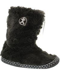 Bedroom Athletics - Marilyn Faux Fur Slipper Boots - Lyst