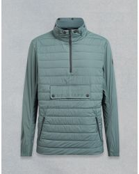 Belstaff - Zephyr Hooded Quilted Jacket - Lyst