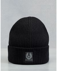 Belstaff - Seabrook Knitted Hat - Lyst