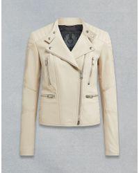 Belstaff - Sidney 3.0 Leather Biker Jacket - Lyst