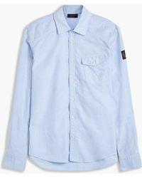 Belstaff - Steadway Oxford Shirt - Lyst