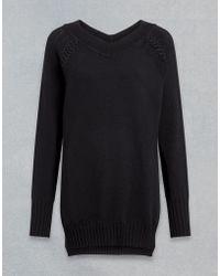 Belstaff - Seaforth Pullover Mit V-Ausschnitt - Lyst