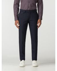 Ben Sherman - Tapered Wool Trouser - Lyst