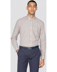 Ben Sherman - Long Sleeve New Mini House Gingham Shirt - Lyst