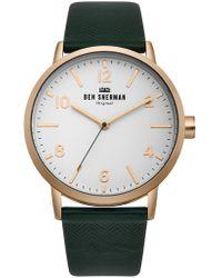 Ben Sherman | Portobello Herringbone Watch | Lyst