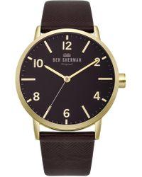 Ben Sherman - Portobello Herringbone Watch - Lyst
