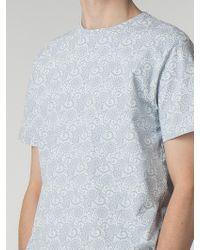 Ben Sherman | Tonal Linea Hero Print T-shirt | Lyst