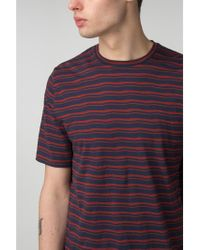 Ben Sherman - Distorted Stripe Crew Neck - Lyst