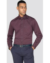 Ben Sherman - Long Sleeve Micro Dobby Shirt - Lyst