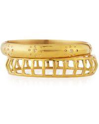 Ashley Pittman - Taaluma Set Of Two Bracelets - Lyst
