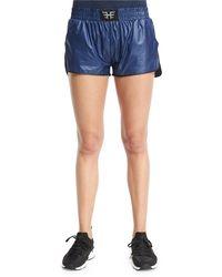 Heroine Sport - Logo-front Lightweight Training Shorts - Lyst