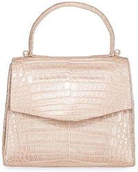Nancy Gonzalez - Lolita Mini Crocodile Top Handle Bag - Lyst