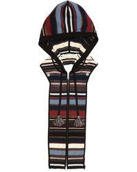 Veronica Beard - Lupe Striped Zip-front Hoodie Dickey - Lyst
