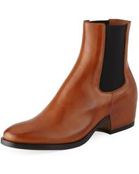 Givenchy - Men's Leather Chelsea Boot - Lyst