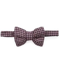 Tom Ford - Classic Houndstooth Bow Tie - Lyst