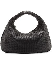 Bottega Veneta - Veneta Intrecciato Large Hobo Bag - Lyst