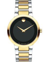 Movado - 39.2mm Modern Classic Watch - Lyst