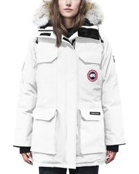Canada Goose - Expedition Multi-pocket Parka Coat W/ Fur Hood - Lyst