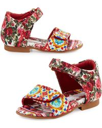 Dolce & Gabbana | Grip-strap Mambo Sandal | Lyst
