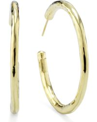 Ippolita | Glamazon 18k Gold #3 Hoop Earrings | Lyst