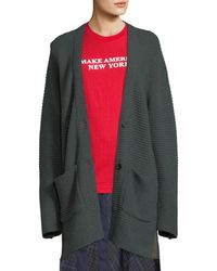 Public School | Fleta Knit Wool-blend Cardigan Sweater | Lyst