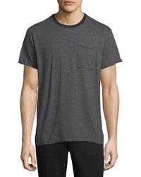 ATM - Oversized Feeder Stripe Jersey T-shirt - Lyst