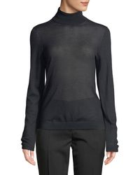 Burberry - Cashmere Long-sleeve Turtleneck - Lyst