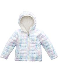 The North Face - Reversible Mossbud Swirl Hooded Jacket - Lyst