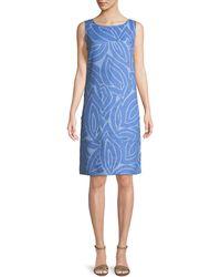 Lafayette 148 New York - Farah Sleeveless Linen Dress - Lyst