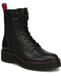 Diane von Furstenberg - Lace-up Leather Combat Boots - Lyst