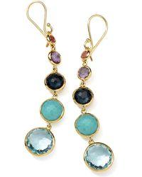 Ippolita - 18k Gold Rock Candy Lollitini Earrings In Multi - Lyst