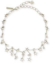 Oscar de la Renta - Crystal-embellished Necklace - Lyst