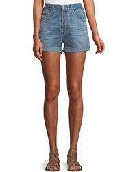 AG Jeans - Alex Vinte Boyfriend Shorts - Lyst