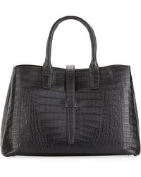 Nancy Gonzalez - Astrid Medium Crocodile Tote Bag - Lyst