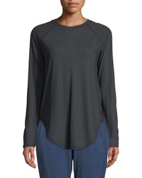 Under Armour - Breathe Open-back Long-sleeve Performance Top - Lyst