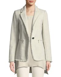 Lafayette 148 New York - Lyndon Morning Dew Tweed Jacket - Lyst