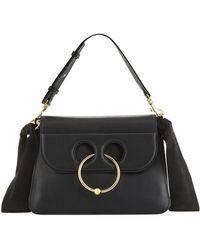 JW Anderson - Pierce Medium Leather Shoulder Bag - Lyst