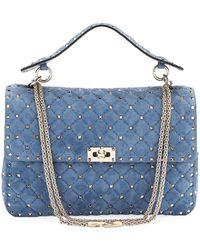 Valentino - Rockstud Spike Large Chain Bag - Lyst