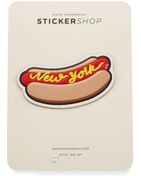 Anya Hindmarch | New York Hot Dog Sticker For Handbag | Lyst