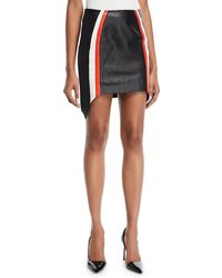 Thierry Mugler - Leather Mini Skirt - Lyst