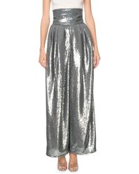 Marc Jacobs Shiny Sequin Dressy Pants - Blue